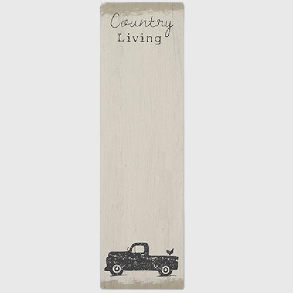 Country Living Notepad