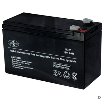 12 amp/hr Rechargeable Battery