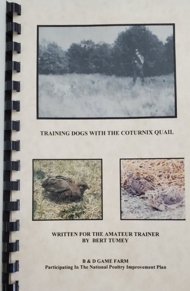 Training Dogs With The Coturnix Quail
