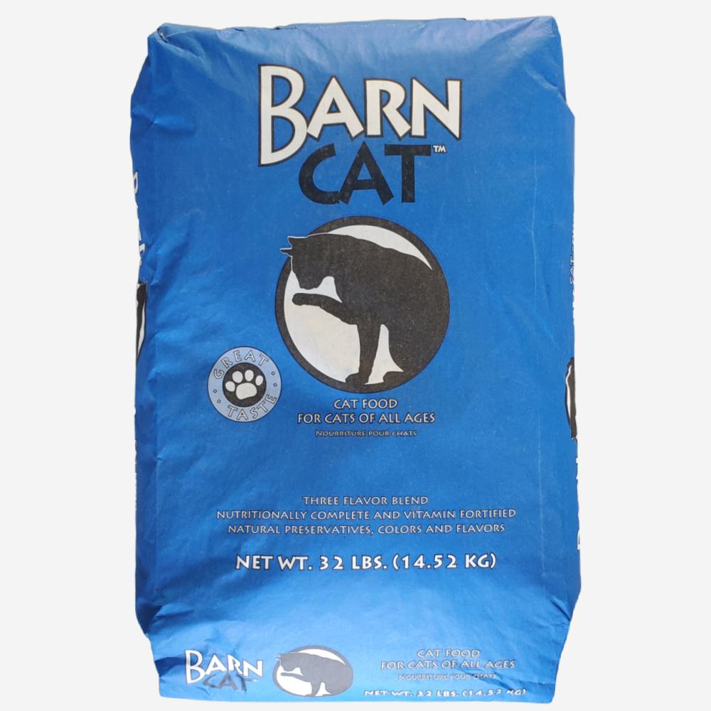 Barn Cat Food, 32 lb Bag