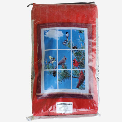 Deluxe Bird Feed with Fruit, 40 lb Bag