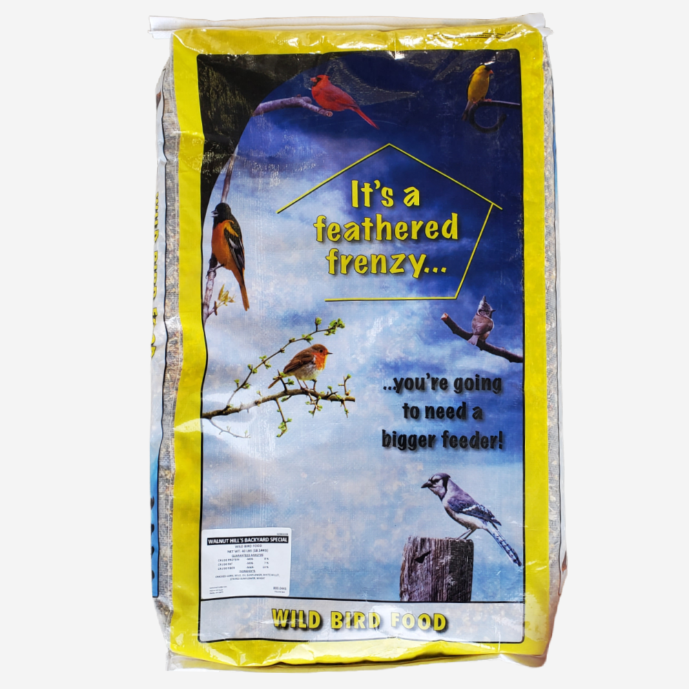 Regular Bird Feed, 40 lb Bag