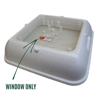 Replacement Hova-Bator Full-View Window, Special Order
