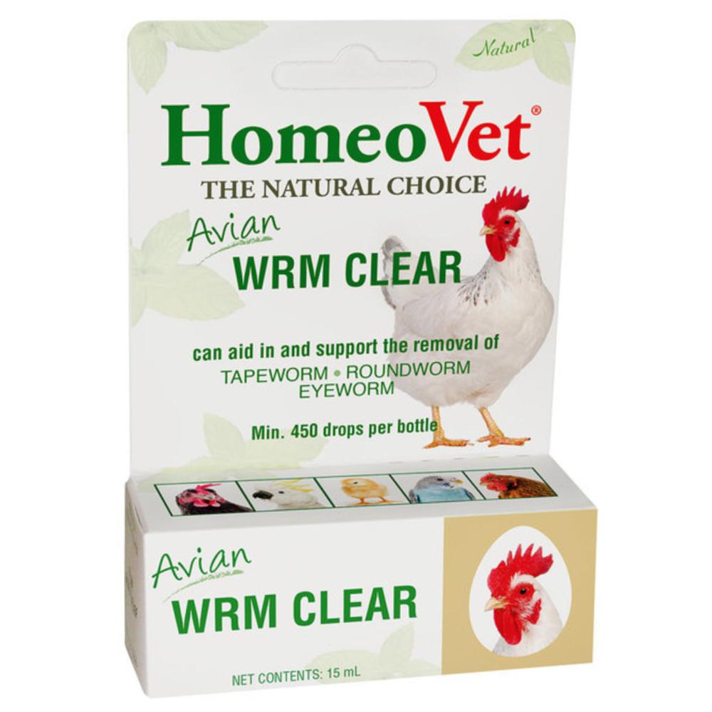 HomeoVet Avian WRM Clear