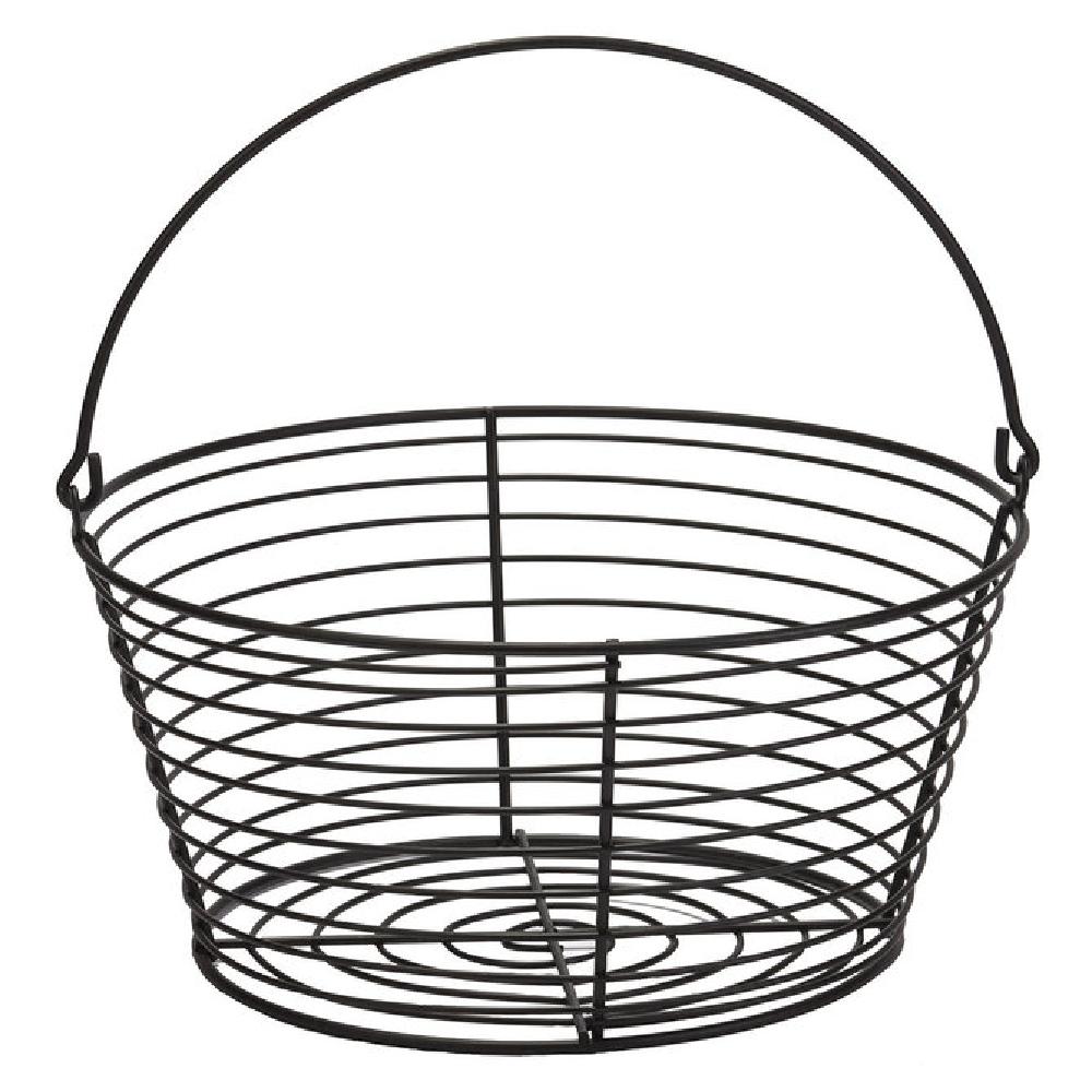 Coated Metal Egg Basket, 8 Dozen Capacity