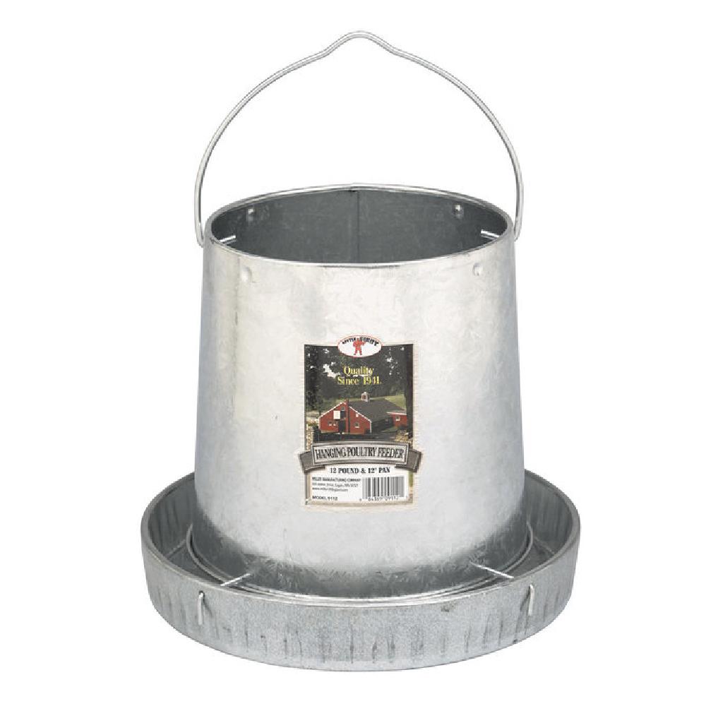 Galvanized Feeder 12-pound Capacity