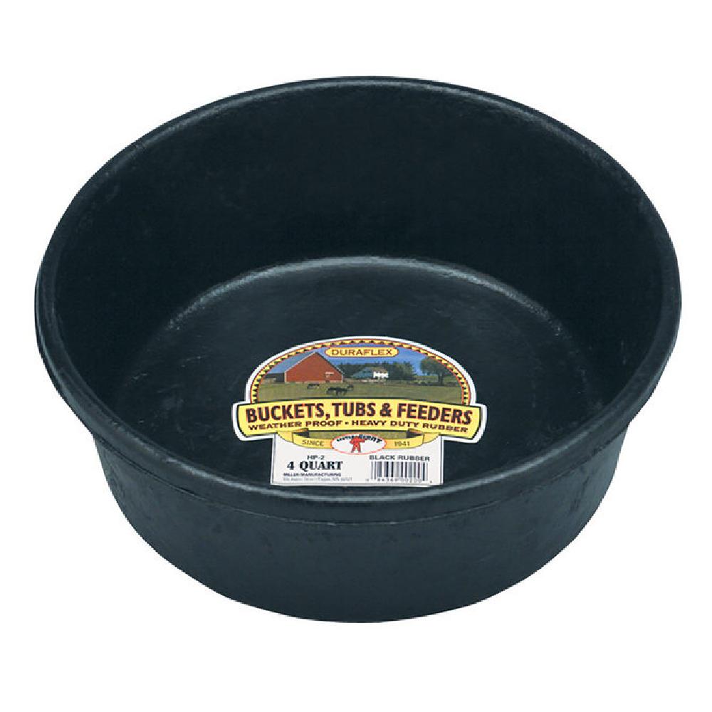 Rubber Feed Pan, 4-quart
