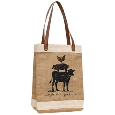 Animal Stack Tote Bag
