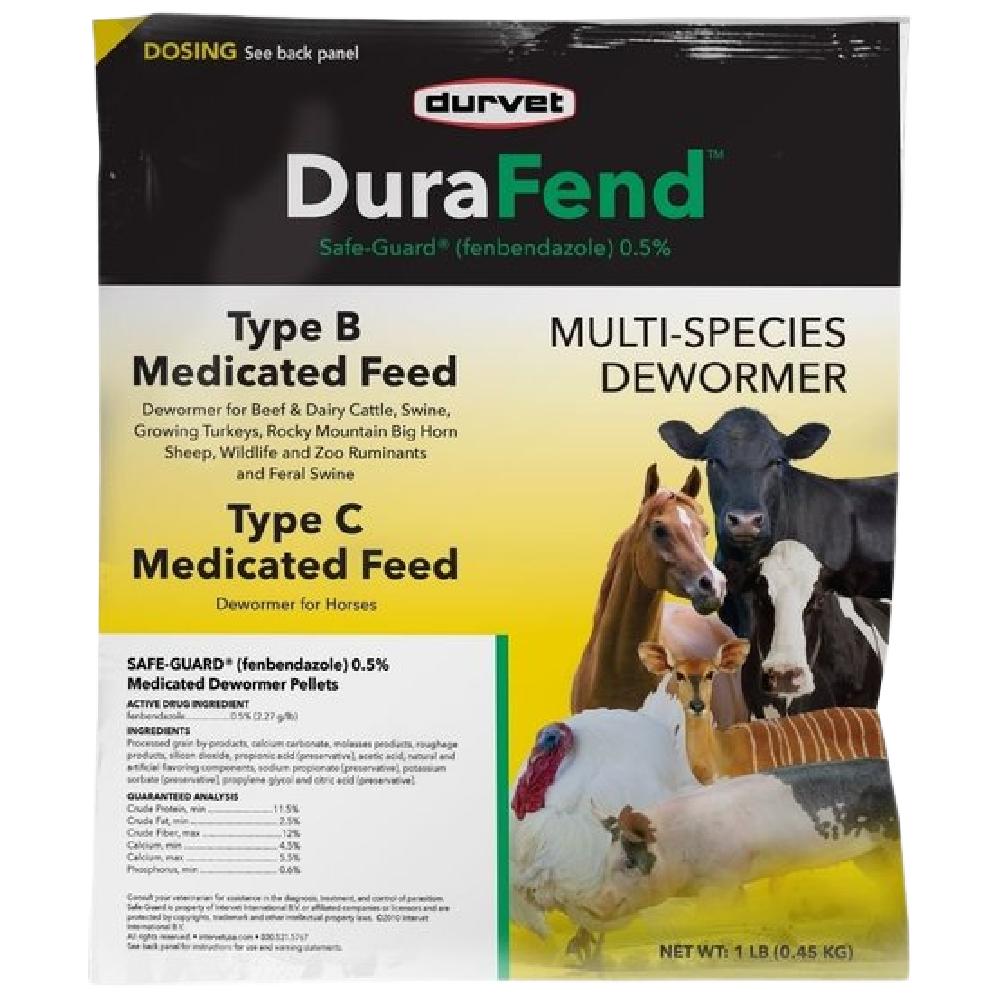 Durvet DuraFend Multi-Species Dewormer Type B/C