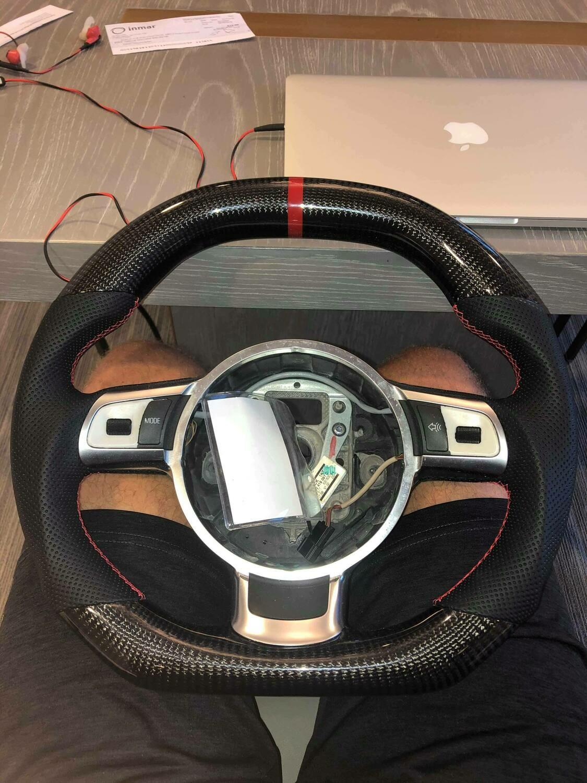 2008-2015 Audi R8 Carbon Fiber Steering Wheel