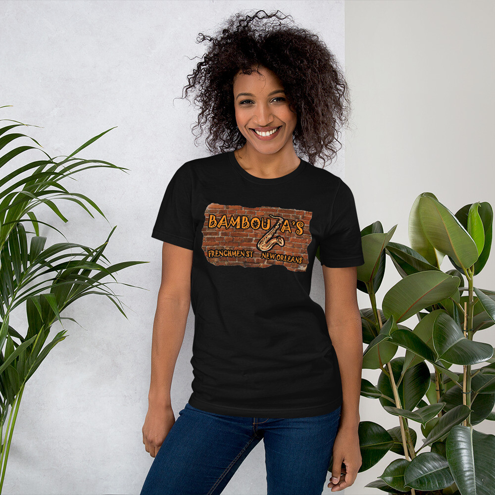 Throwback Bamboula's Brick Short-Sleeve Unisex T-Shirt