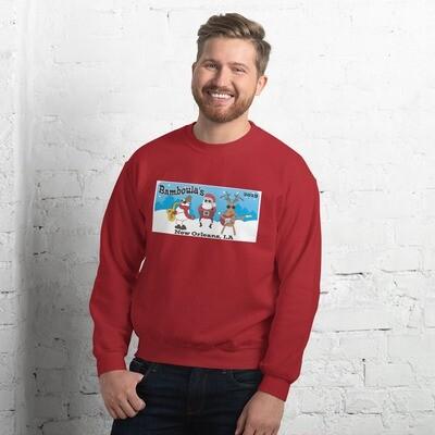 Bamboula's Ugly Christmas Sweater Unisex Sweatshirt