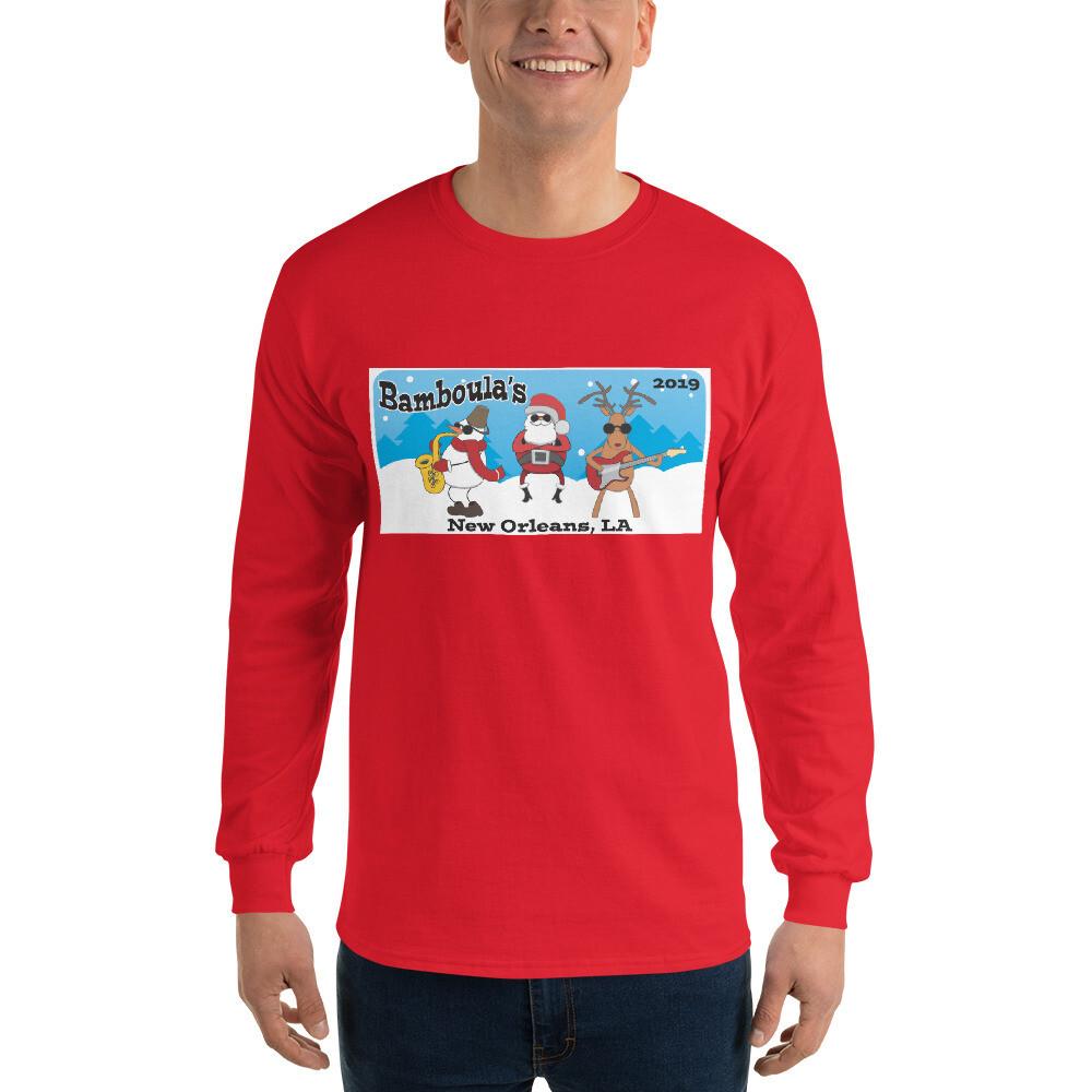 "Bamboula's ""Ugly Sweater"" Long Sleeve T- Shirt"