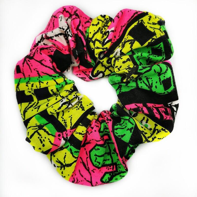 Neon G Scrunchie