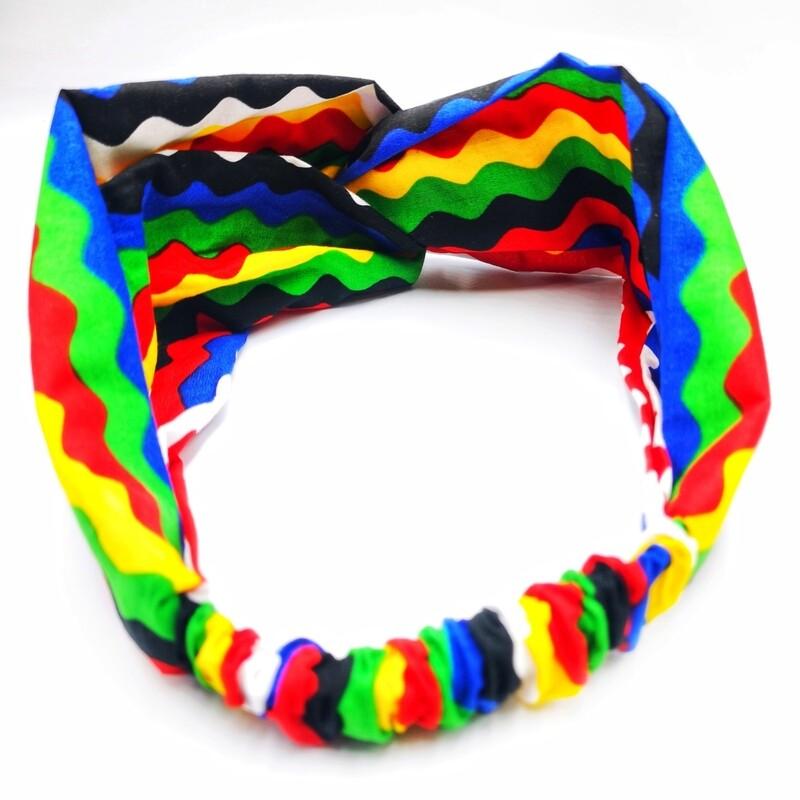 Wavy Turban headband
