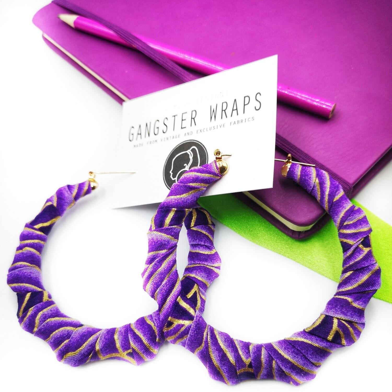 Purple Rachel Earrings