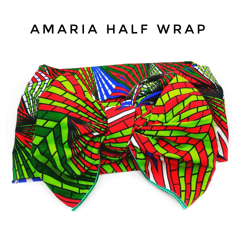 amaria half head wrap