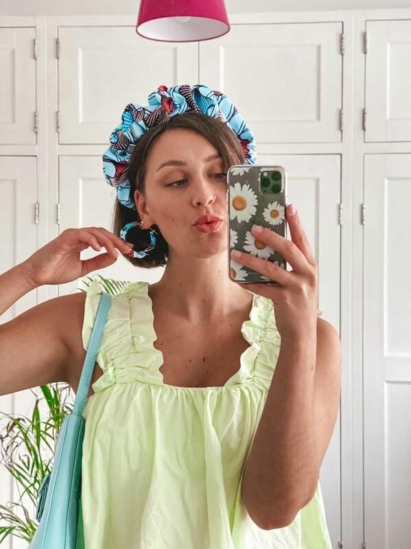 Serene scrunchie headband