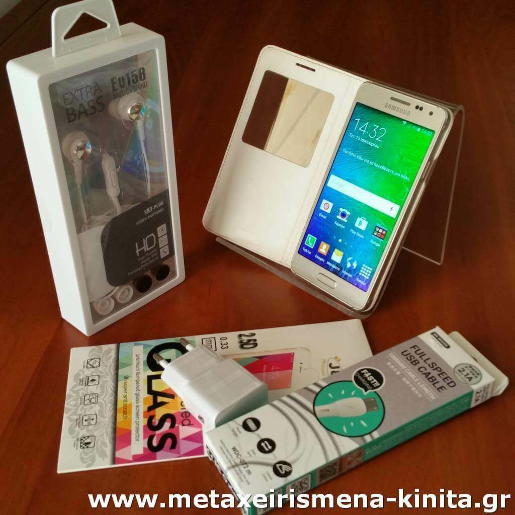 "Samsung Galaxy Alpha (G850F), 4.7"", 32/2, 8core, καινούργια μπαταρία"