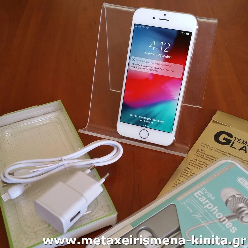 iPhone 6 16GB με 100% υγεία μπαταρίας