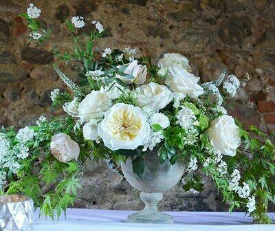 Luxury artistic floral arrangement - Unique pieces. Composizioni artistiche con fiori meravigliosi