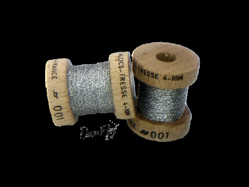 Metallics tressé 4-Argent