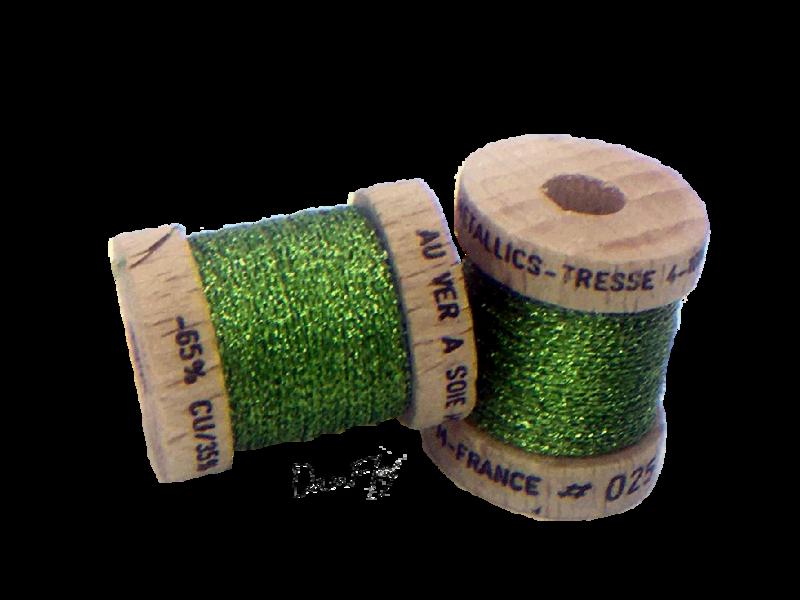 Metallics Tressé 4- Chartreuse