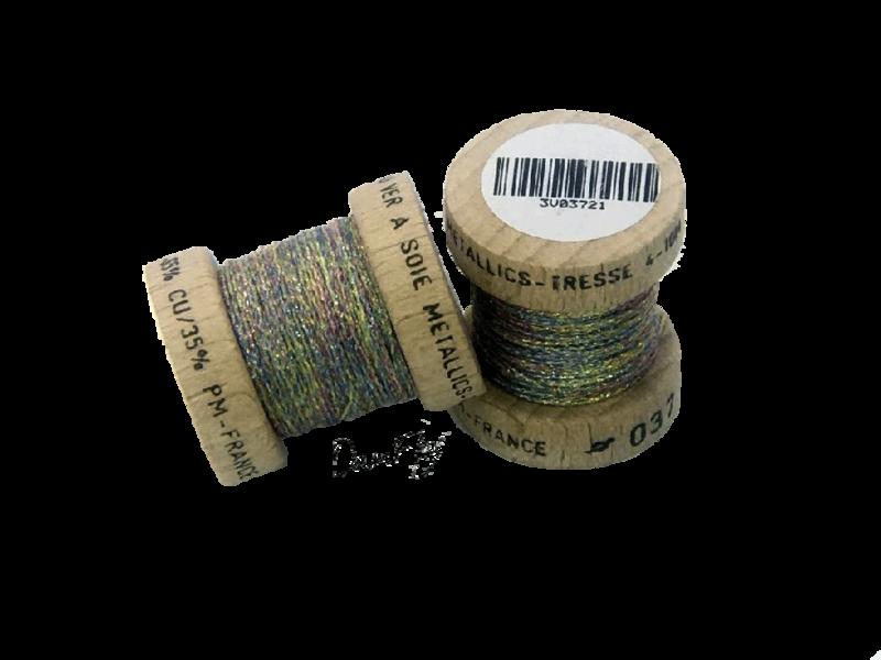 Metallics  Tressé 4-Multicolor