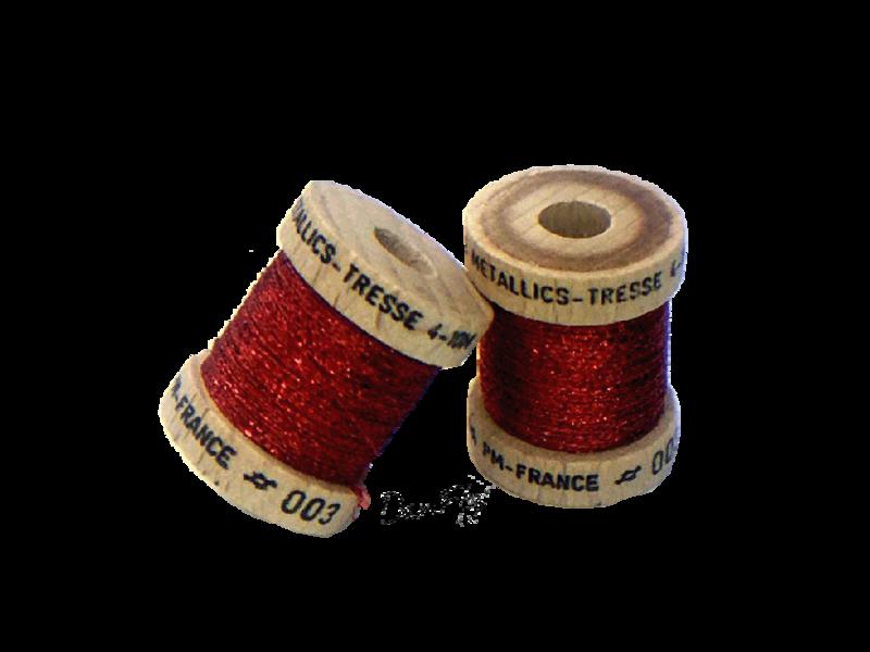 Metallics Tressé 4 - Rouge