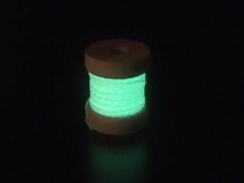 Metallics Tressé 8- Phosphorescent