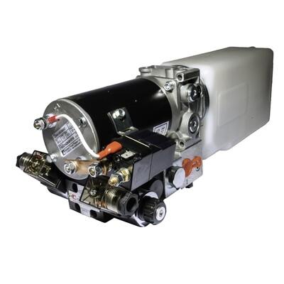 Hydraulic Motor M90+CTP2 PU Vert 50bar c/w Dual POC