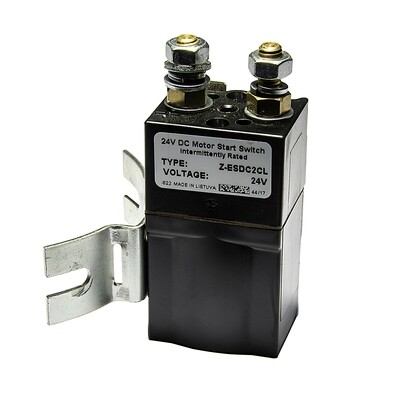 IP70 24v DC Motor Solenoid - Thermal Switch and Square Starter