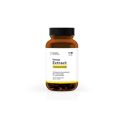 Concentrated CBD Capsules-30 count