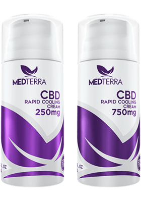 CBD TOPICALS CBD RAPID COOLING CREAM - 250mg and 750mg