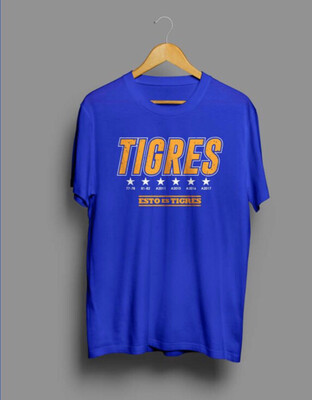 Camiseta Azul Tigres