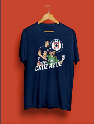 Camiseta Deportivo Cruz Azul