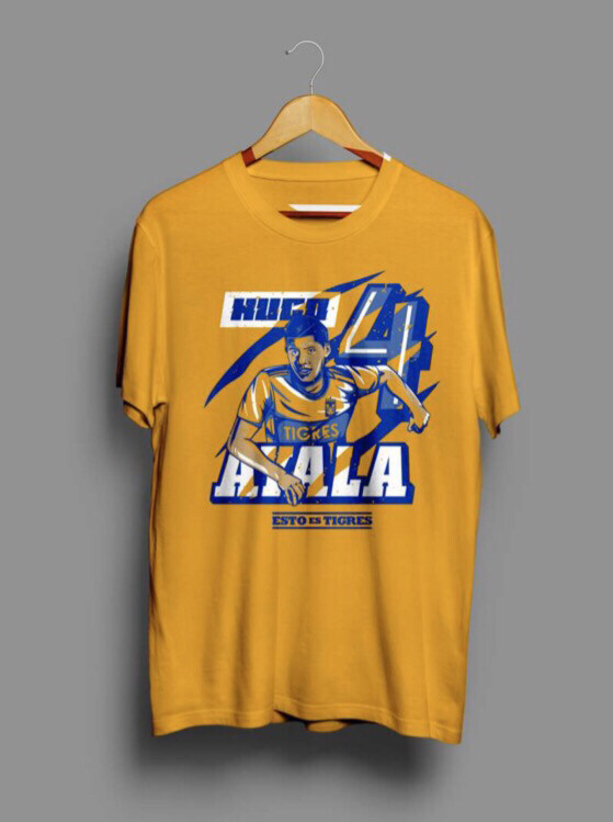 Camiseta Amarilla H. Ayala #4 Tigres