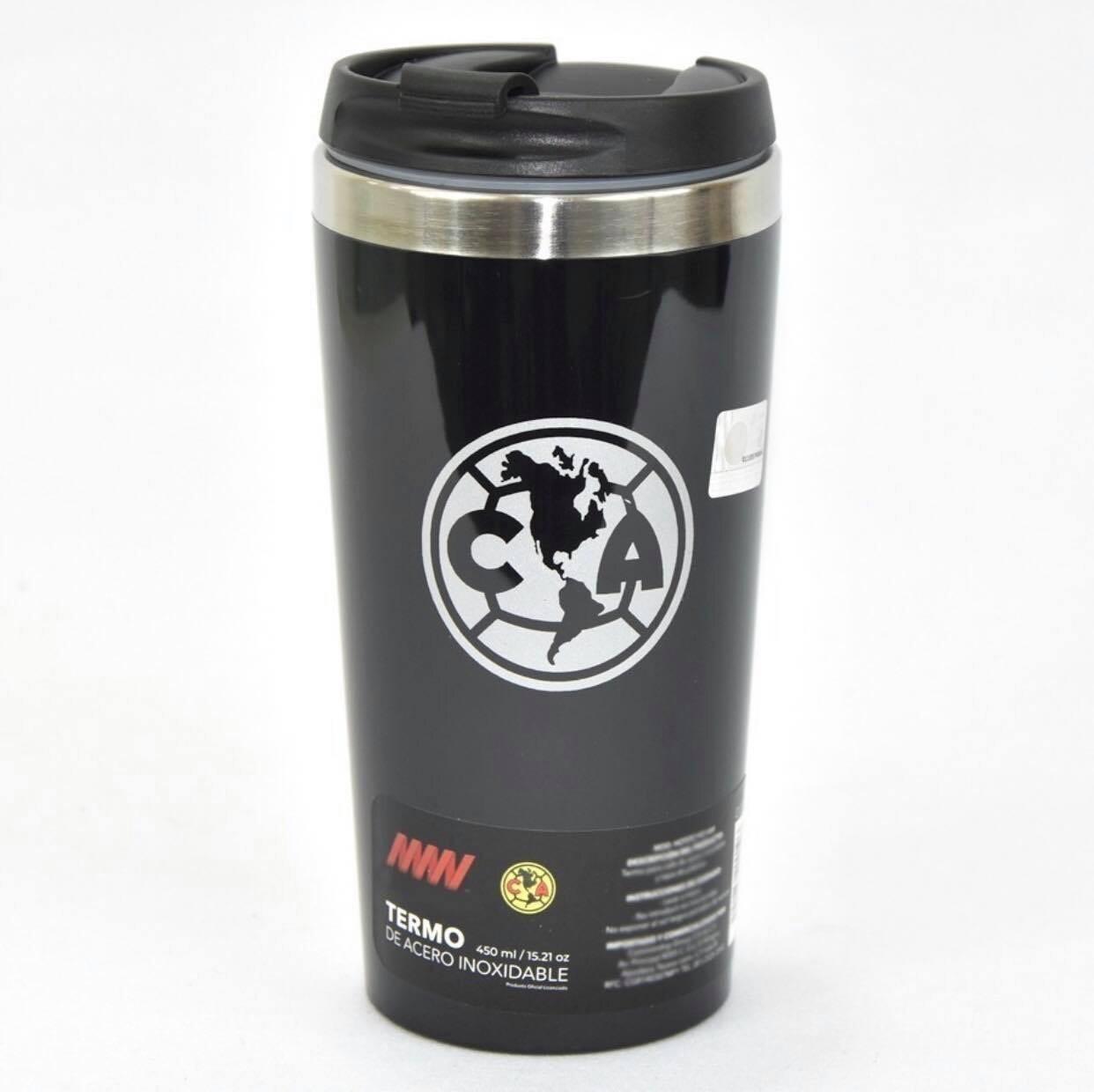 Termo América Metálico 450 ml Black