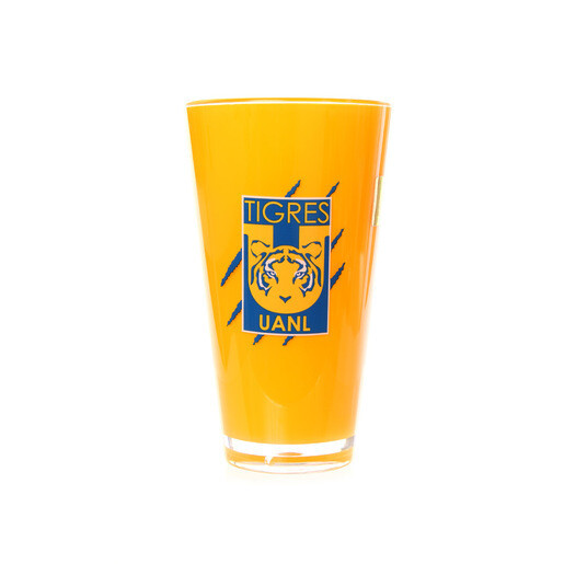 Vaso Amarillo Tigres 600 ml. / 20 oz