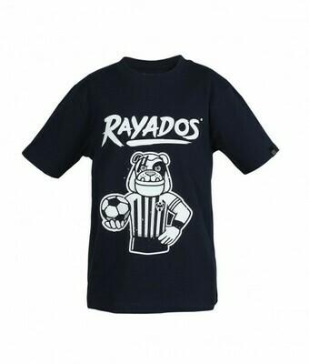 Camiseta Monty Rayados Niños