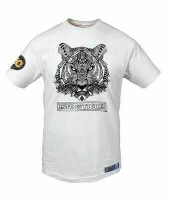 Camiseta Tigres Mándala Tigre