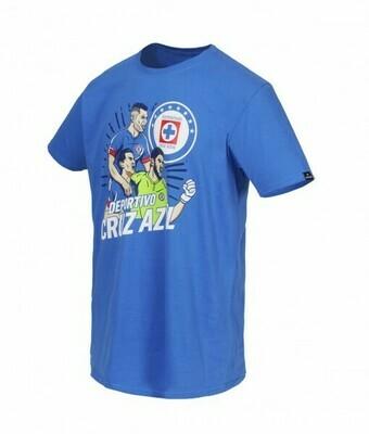Camiseta Deportivo Cruz Azul niños