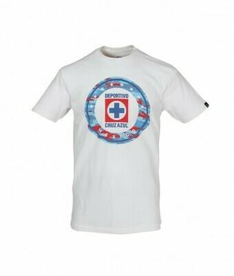 Camiseta Blanca Cruz Azul niños