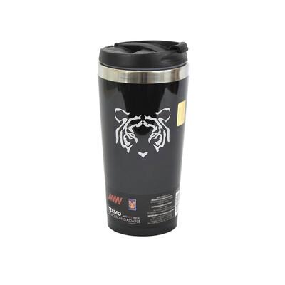 Termo Tigres Metálico 450 ml Black