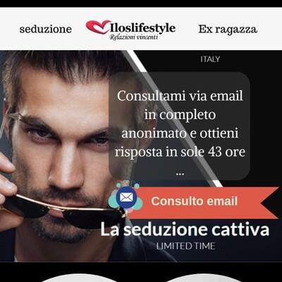 Consulto email uomo