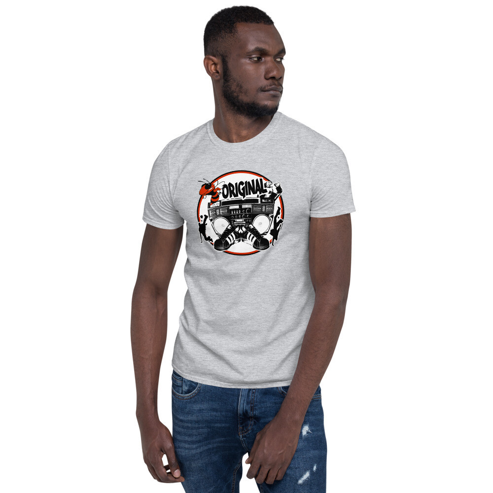 Bee Original Red Short-Sleeve Unisex T-Shirt