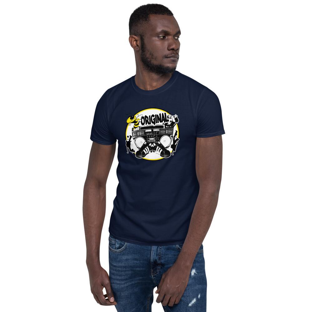 Bee Original Yellow Short-Sleeve Unisex T-Shirt