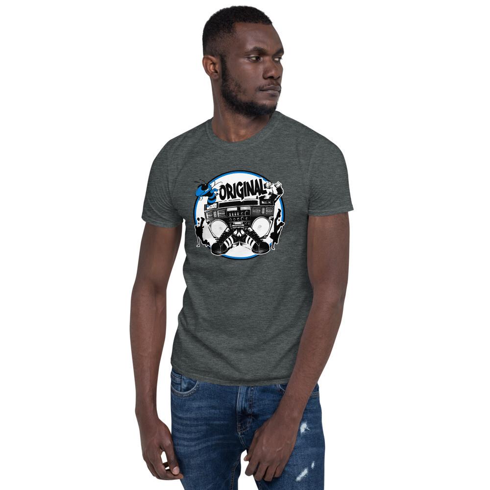 Bee Original Blue Short-Sleeve Unisex T-Shirt