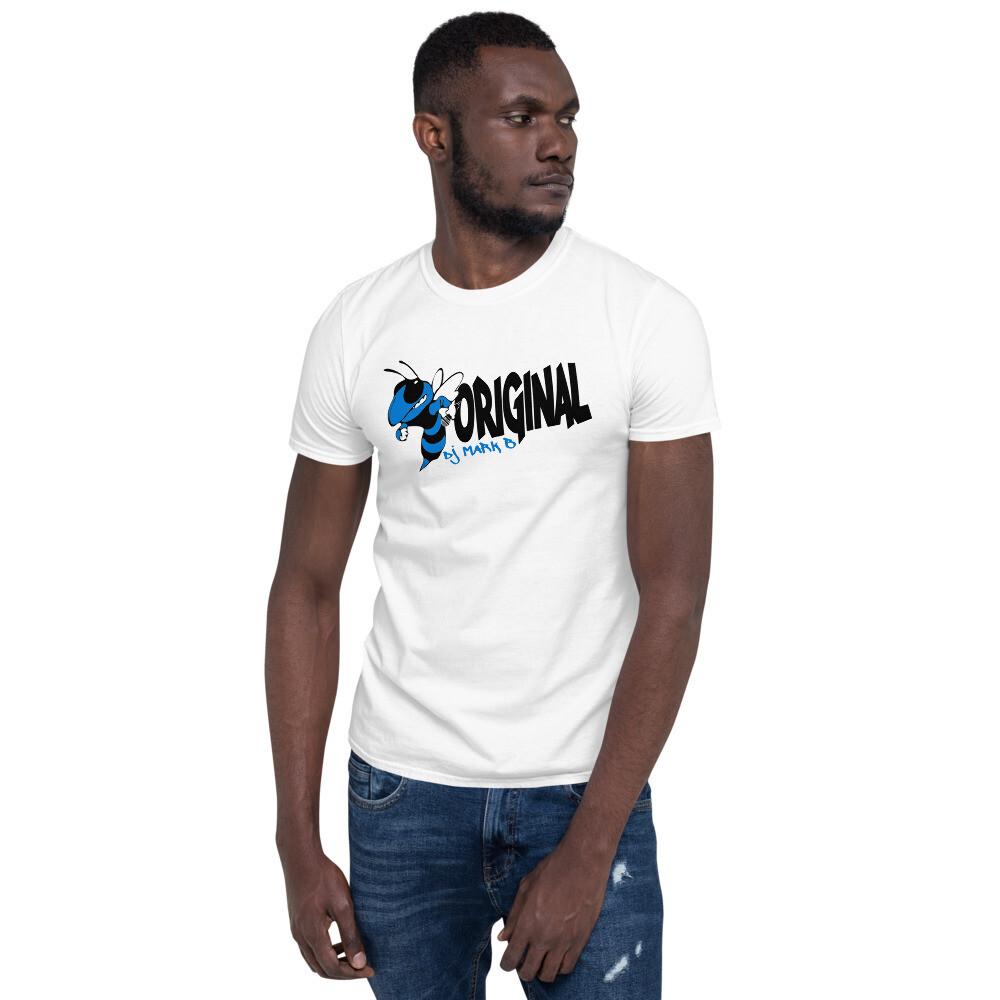 Bee Original Mark B Blue Short-Sleeve Unisex T-Shirt