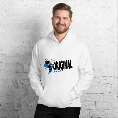 Bee Original Mark B blue Unisex Hoodie